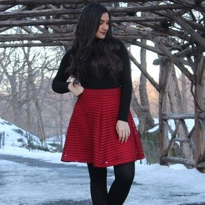 Red Skirt from H&M